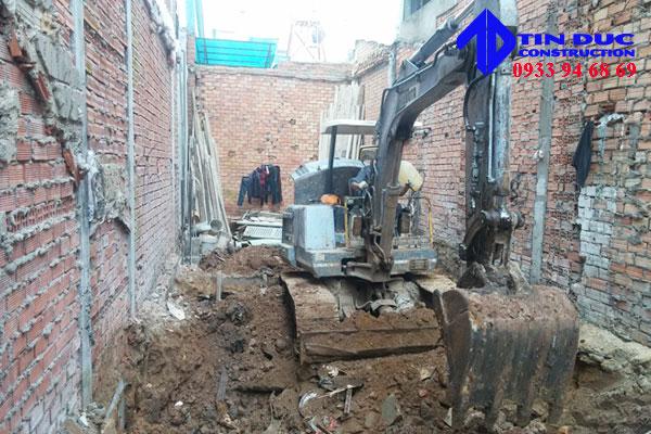Báo giá đào móng nhà 2
