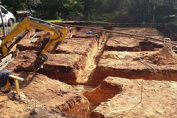 dich vụ đào móng nhà