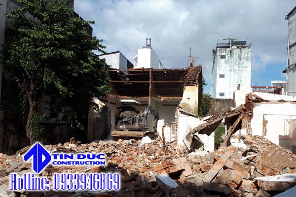 phá dỡ nhà cấp 4 tại tphcm